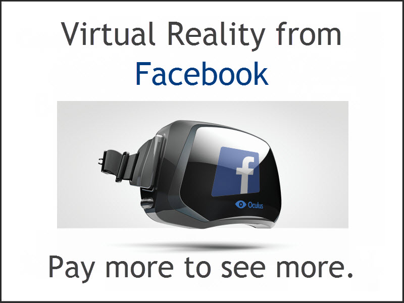 The Oculus Rift – virtual reality just got 'real'.