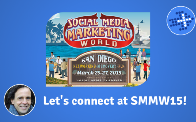 Let's connect at SMMW15!