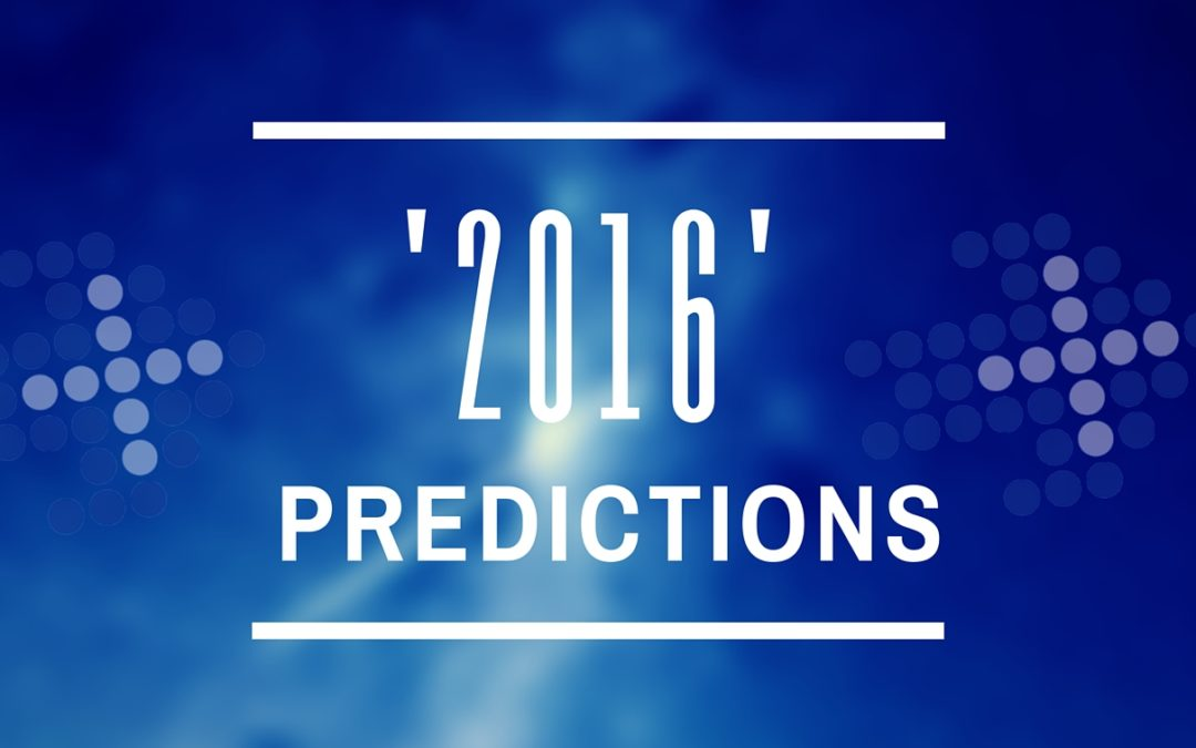 My predications for 20164 min read