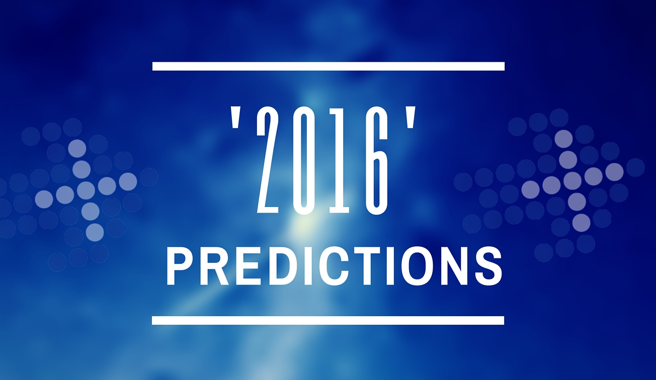 2016 Predictions
